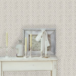 Papier peint WHITE WOOL WALL